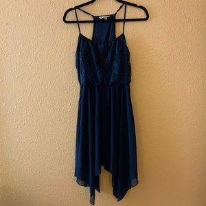 Lace Shark Hem Dress